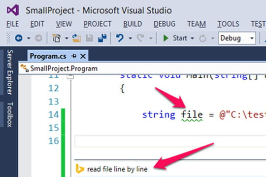 Visual Studio 2013 s'intègre à Stack Overflow