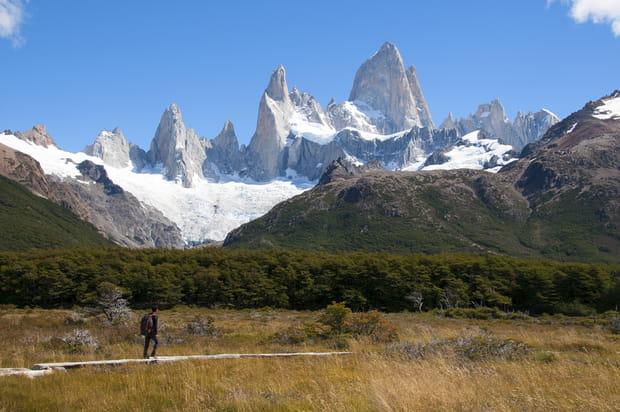 Le massif du Fitz Roy, Argentine