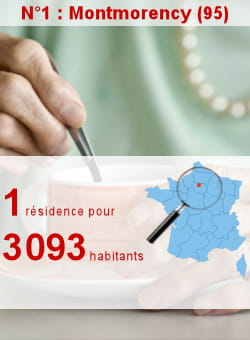 l'insee recense 7 résidences pour personnes âgées à montmorency.