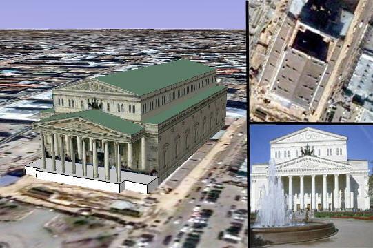 Le théâtre Bolshoi