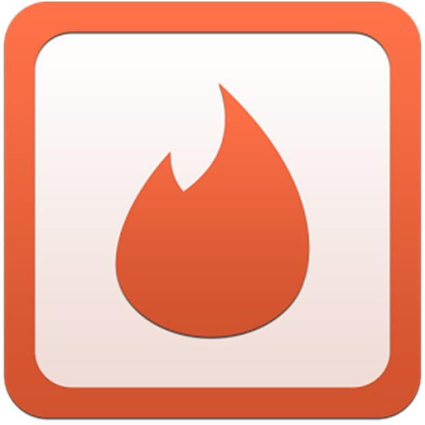 tinder joue sur la symbolique de la flamme