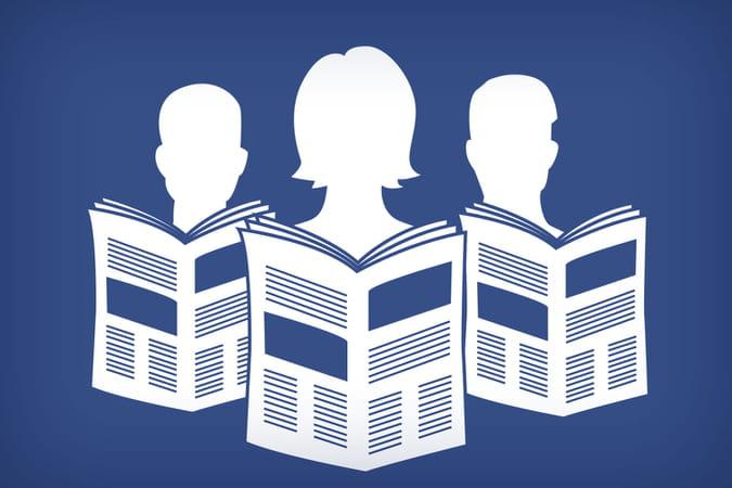 Les groupes médias sur Facebook: peu d'audience mais beaucoup de lien