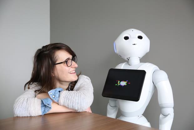 Un robot à l'accueil