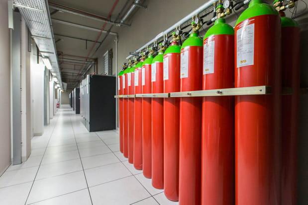 Le système anti-incendie