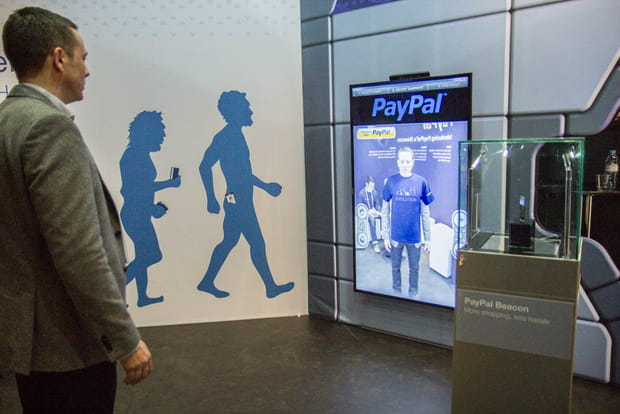 Le concept Beacon de Paypal