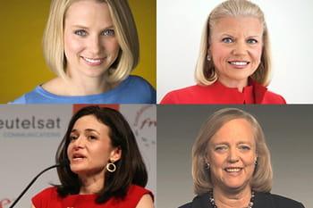 plusieurs femmes se sont hissées au sommet des plus grandes entreprises du