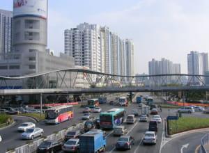 au plus fort de la crise, l'activité économique de shenzhen croissait toujours.
