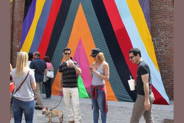 Future Phenomena, oeuvre murale