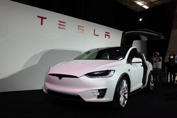 La Model X possède de nombreuses caractéristiques