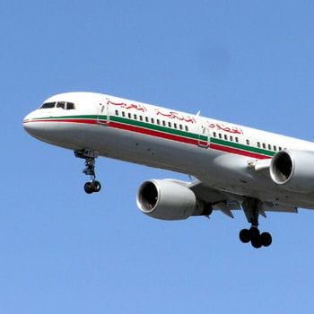 un boeing 747 aux couleurs de royal air maroc