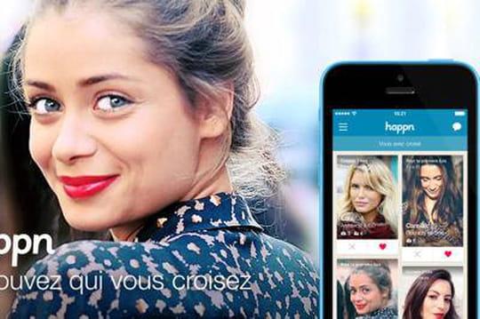 Happn, le concurrent français de Tinder, lève 8millions de dollars