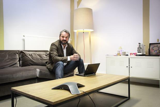 Dans le bureau d'Antoine Pabst