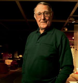 ingvar kamprad, fondateur d'ikea.