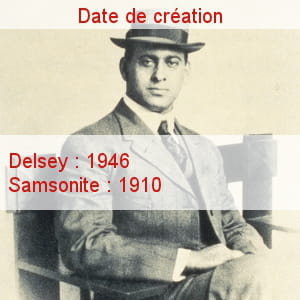 jesse schwayder a fondé la marque samsonite en 1910.