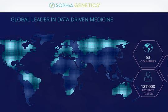 Info JDN: la start-up IA Sophia Genetics lève 30millions de dollars