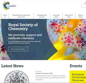 site de la royal society of chemistry.