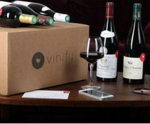 vinify, box de six vins.