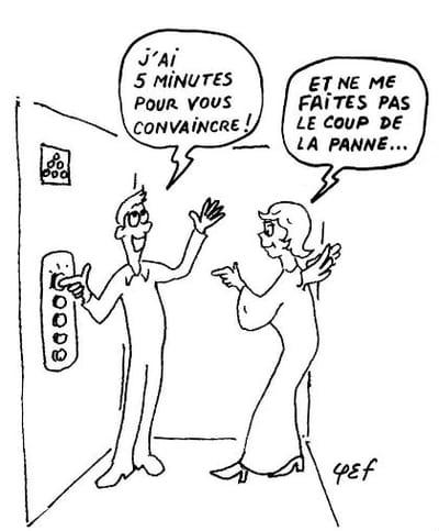l'elevator pitch vu par phief