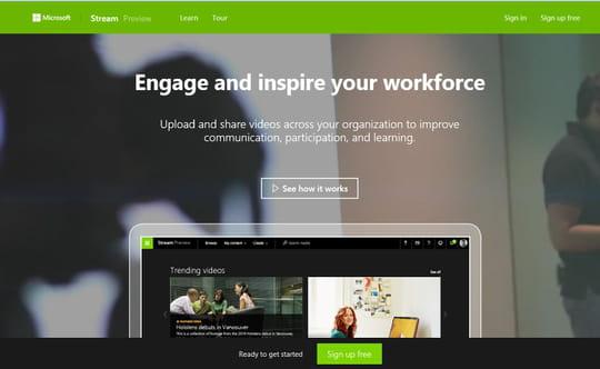 Avec Stream, Microsoft refond Office365 Video