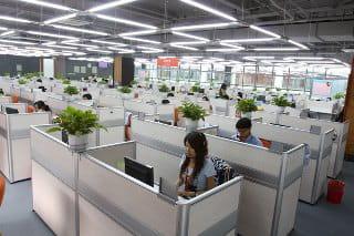 bureaux d'alibaba