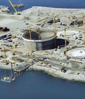 en 2007, entreprose contracting s'est alliée àvinci pour la construction de