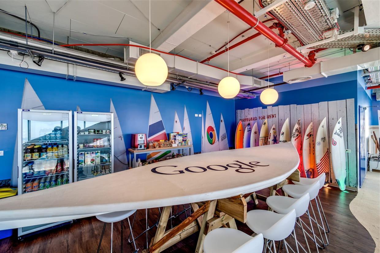 Découvrez les nouveaux bureaux de google à dublin