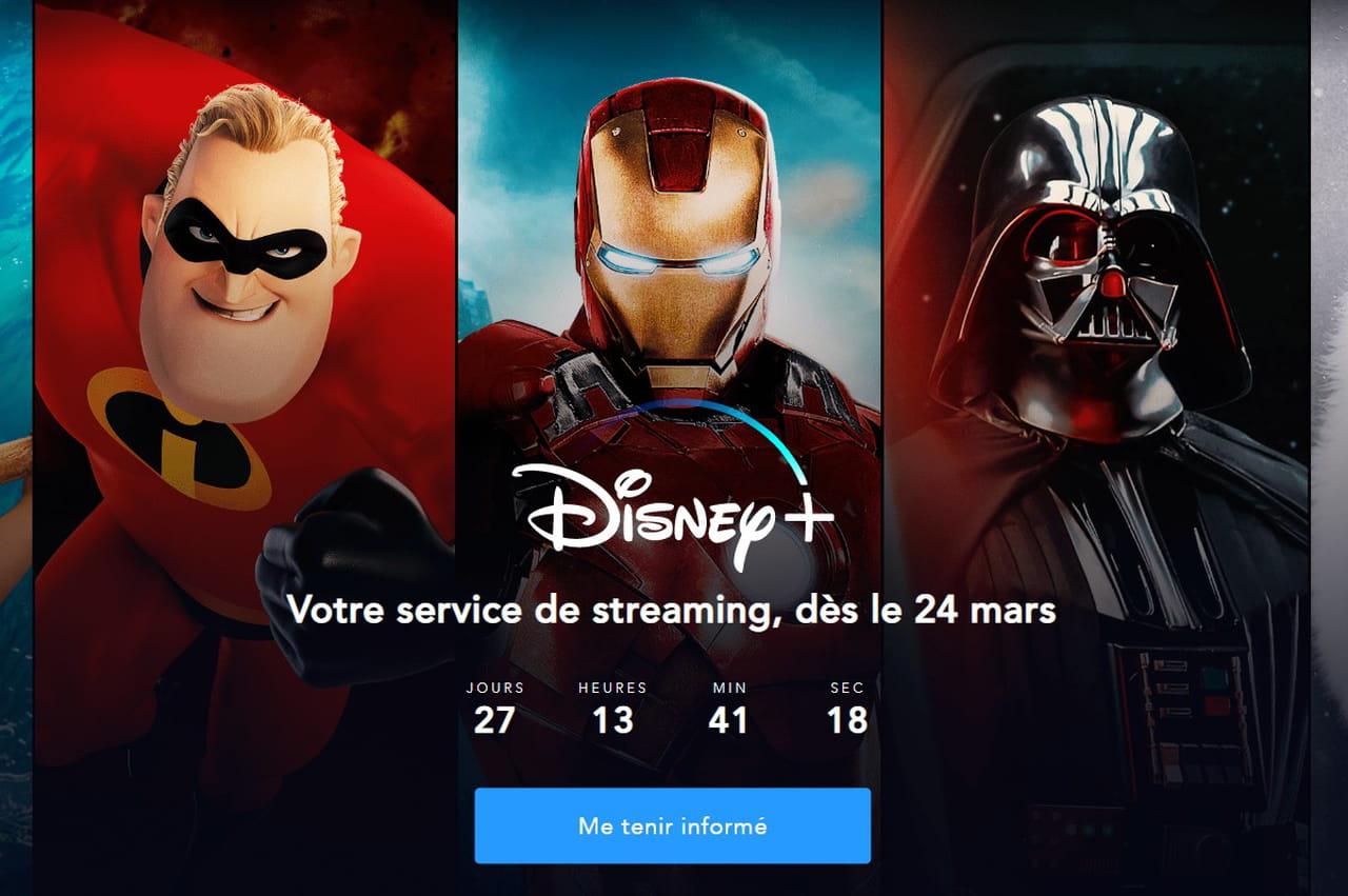 Disney +: il n'y aura pas d'abonnement annuel à prix réduit en France