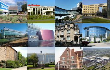 ces grandes entreprises ont conservé leur siège social en province.