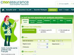 le site cmonassurance.com