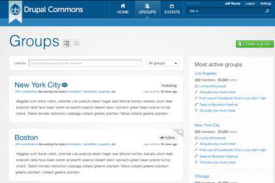 Drupal Commons 3.0 : un réseau social Open Source en Responsive Design