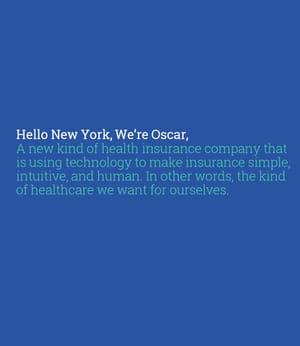 oscar est une nouvelle compagnie d'assurances.