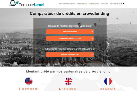 Confidentiel : le comparateur de crowdlending Comparelend lève 380000euros