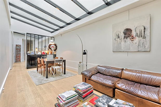 Un toit vitré pour une luminosité maximale