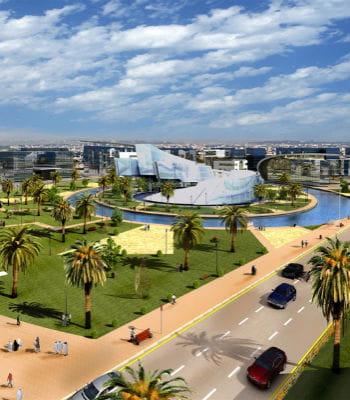 energy city au qatar va coûter près de 2 milliards d'euros.
