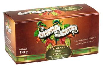 piments doux confits sérénade des saveurs