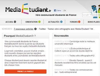 le portail touchait 2,5% des internautes français en février 2013.