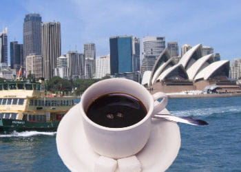 la capitale économique australienne est 20e pour le prix du café.