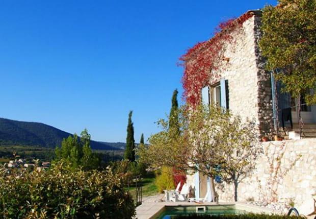 Une maison de village dans le Luberon