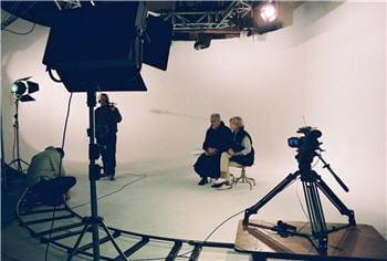 tournage de la vidéo au coeur de la campagne