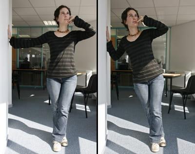 un exercice pour se muscler les bras.