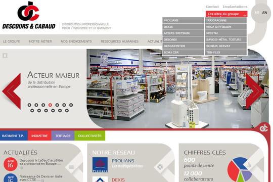 Descours & Cabaud : fusionner 120 sites Web en 2
