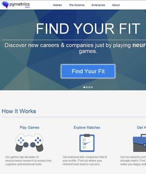 pymetrics met en relation employeurs et chercheurs d'emplois.
