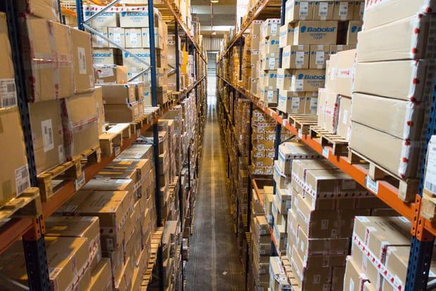 22 000 m² dédiés à la logistique