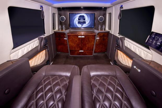 Une cabine très luxueuse
