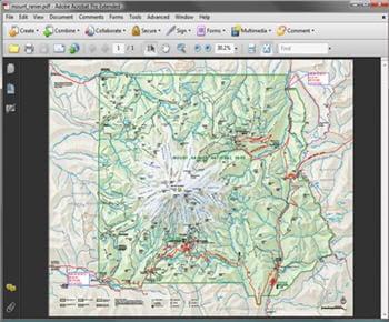 lesinteractions de cartographie géographique avec acrobat 9