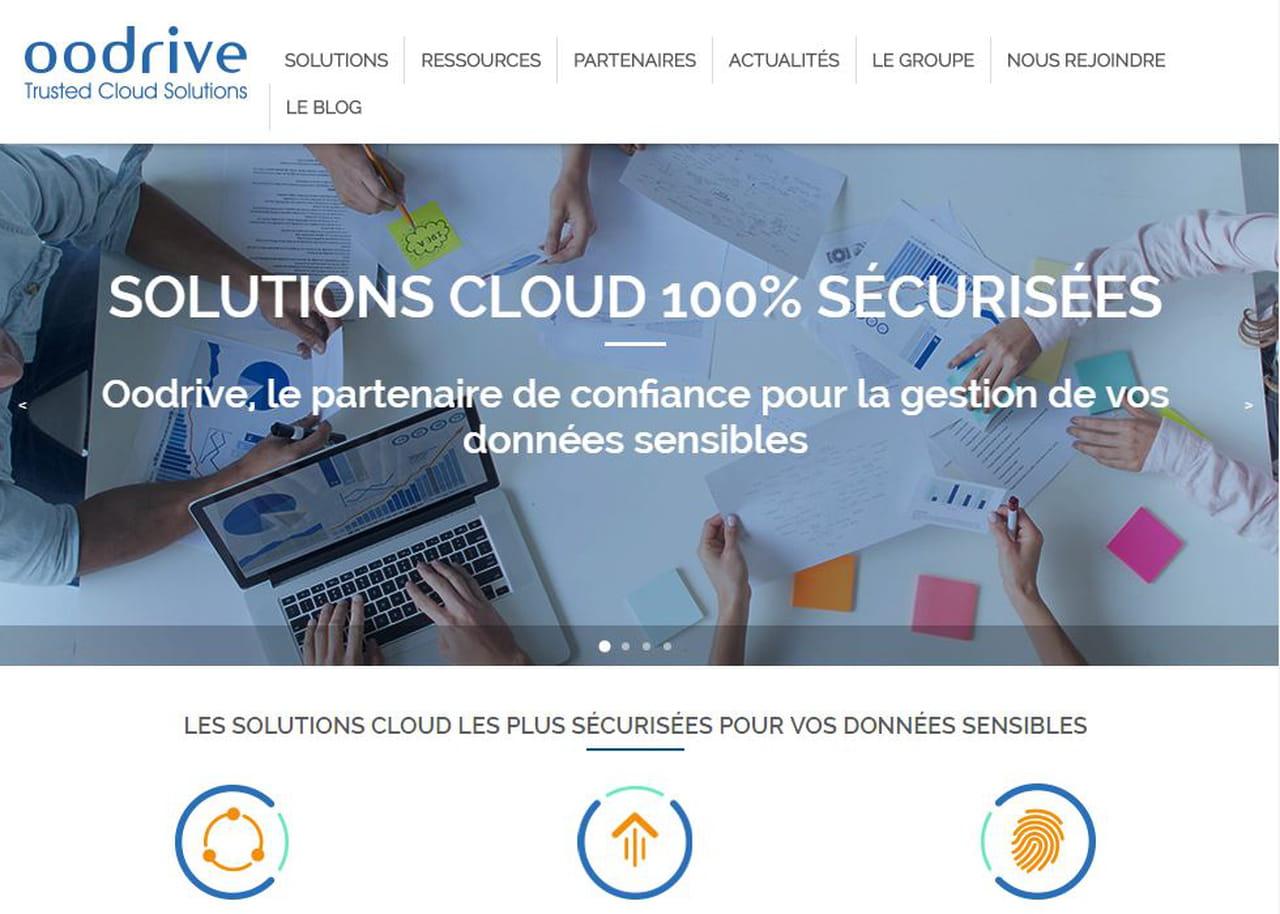 Le français Oodrive lève 65 millions d'euros — Stockage en ligne