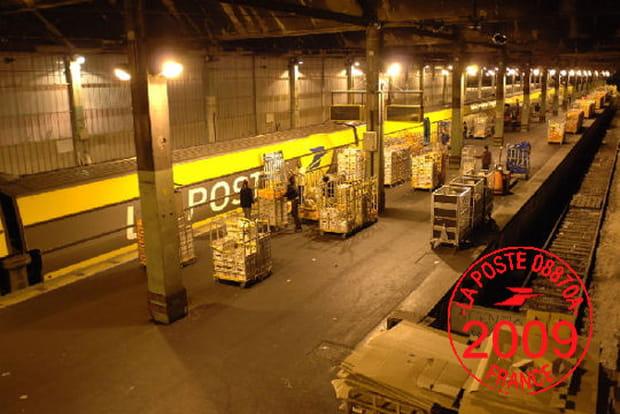 Trains postaux en 2009