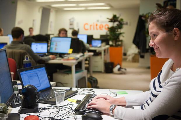 Criteo : équipe commerciale