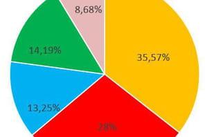 Parts de marché des opérateurs mobile en France