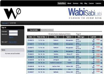 wabisabilabi, la place de marché des failles zero-day.